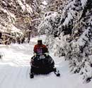 Snowmobiling-/Winter Activities
